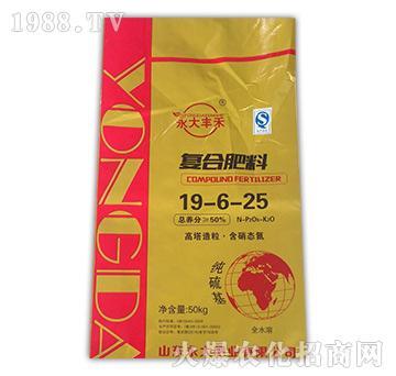 复合肥料19-6-25-益生源