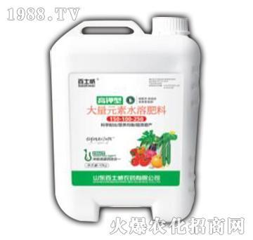 大量元素水溶肥料150-100-250-百士威