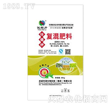 锌硼钾复混肥料15-15-15-优颗力-华晟集团