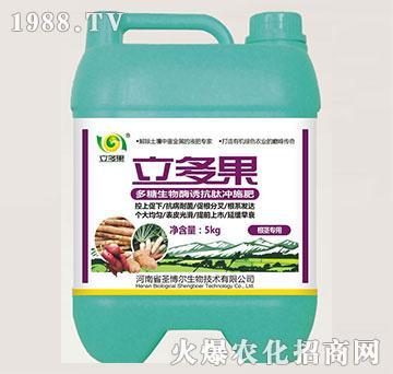 根茎专用多糖生物酶诱抗肽冲施肥-立多果-圣博尔