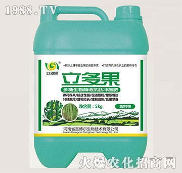蔬菜专用多糖生物酶诱抗肽冲施肥-立多果-圣博尔