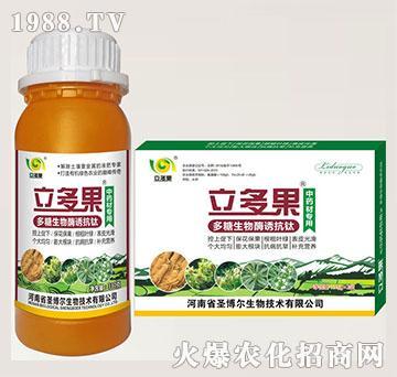 中药材专用叶面肥-多糖生物酶诱抗肽-立多果-圣博尔