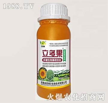 油菜葵花专用叶面肥-多糖生物酶诱抗肽-立多果-圣博尔