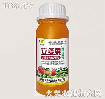 果树专用叶面肥-多糖生物酶诱抗肽-立多果-圣博尔