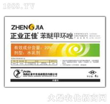 20%苯醚甲环唑-正业正佳