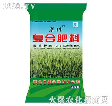 复合肥料25-12-8-晨耕(绿)-茂盛