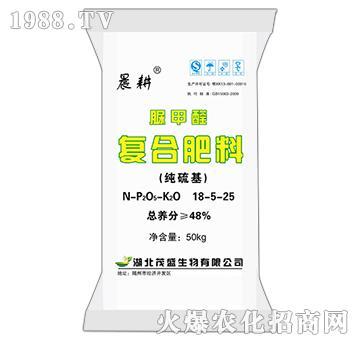 脲甲醛复合肥料18-5-25-晨耕-茂盛