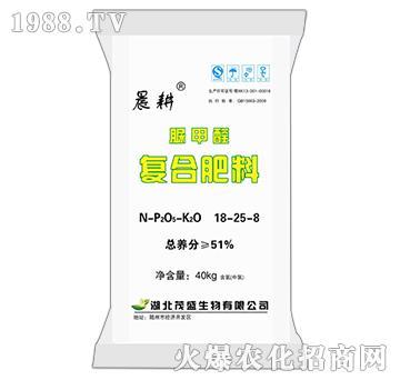 脲甲醛复合肥料18-25-8-晨耕-茂盛