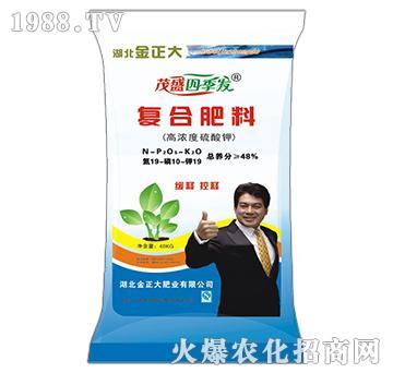 高浓度硫酸钾复合肥料19-10-19-茂盛
