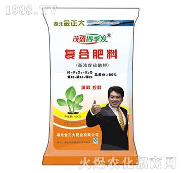 高浓度硫酸钾复合肥料18-12-20-茂盛