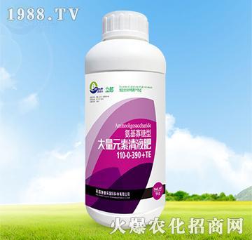 氨基寡糖型大量元素清液肥110-0-390+TE-利郎-施普乐