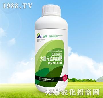 氨基寡糖型大量元素清液肥170-170-170+TE-利郎-施普乐