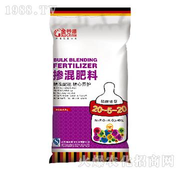 硫酸钾型掺混肥料20-