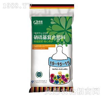硝硫基复合肥料15-15-15-瓮福金谷