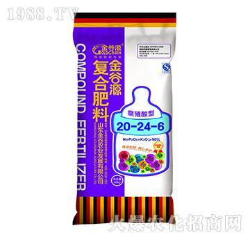 复合肥料20-24-6-金谷源-瓮福金谷
