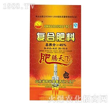 肥腾天下-复合肥料25-15-5-鲁西化工