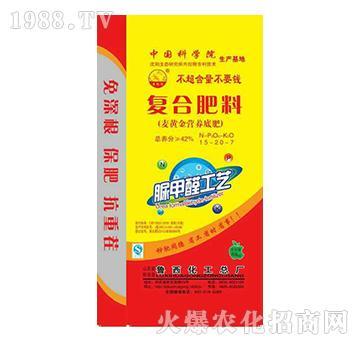 复合肥料15-20-7-鲁西化工