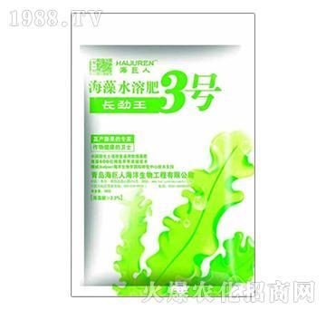 海藻水溶肥3号-长劲王-海巨人