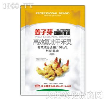 10.8%高效氟吡甲禾灵-姜子芽-顺尔威佳