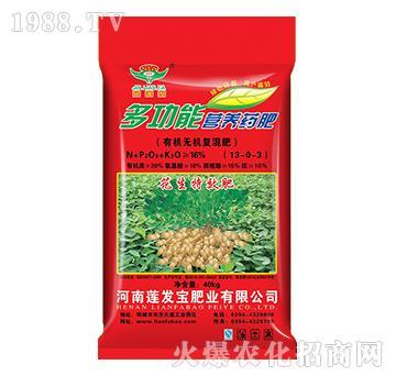 有机无机复混肥13-0-3-多功能营养药肥-莲发宝
