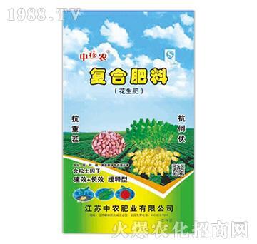 花生专用复合肥料-中农肥业