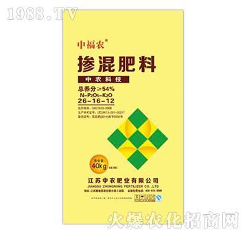 掺混肥料26-16-12-中福农-中农肥业