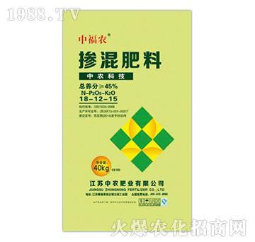 掺混肥料18-12-15-中福农-中农肥业