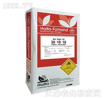 大量元素水溶肥料30-10-10-海法・芬曼达4号-博克