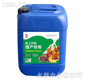 含腐植酸水溶肥料-地上作物增产专用-迪斯曼