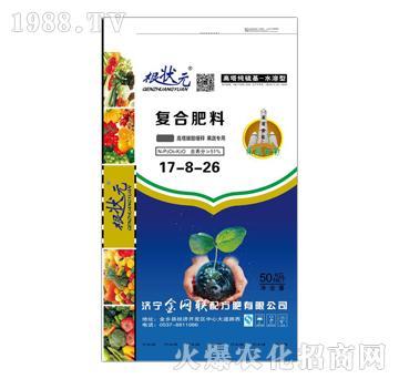 果蔬专用复合肥料17-