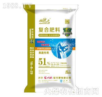 果蔬专用复合肥料16-