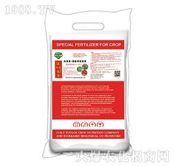 海藻素+硝酸钾加强型水溶肥-沃土黄金-开扩生物