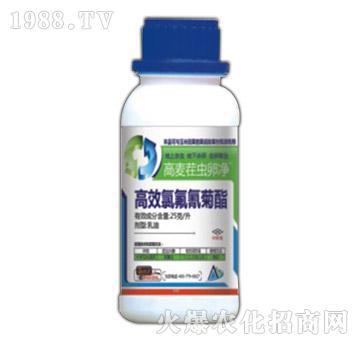 2.5%高效氯氟氰菊酯-高麦茬虫卵净-国人福