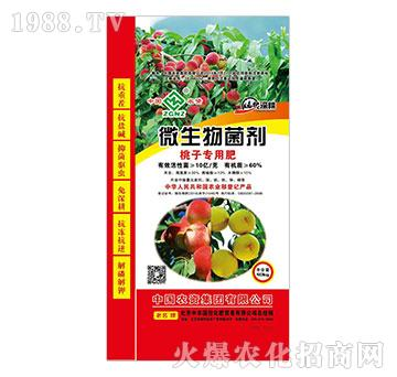 微生物菌剂-桃子专用肥-中农国控
