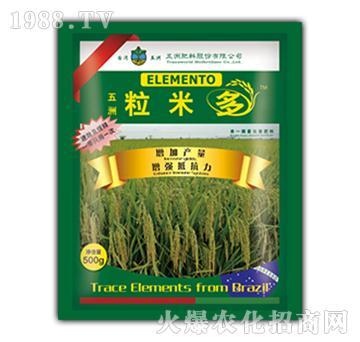 水稻微肥-粒米多-五洲