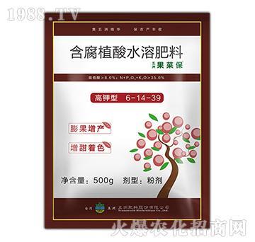 含腐植酸水溶肥6-14-39-果菜保-五洲