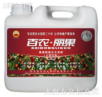 大枣专用-腐植酸螯合水溶肥-百农丽果