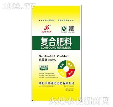 复合肥料25-14-6-中科磷化