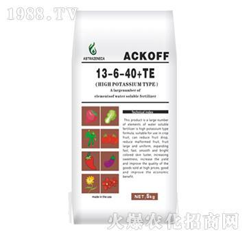大量元素水溶肥13-6-40+TE-阿斯利康