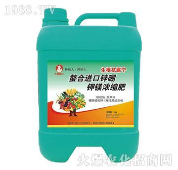 螯合进口锌硼钾镁浓缩肥
