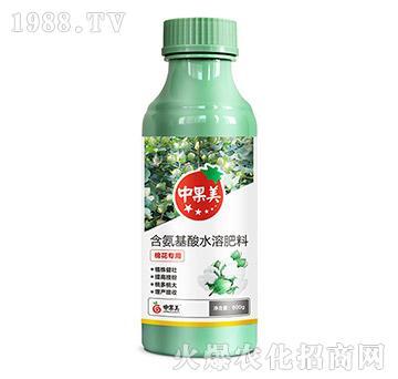 棉花专用含氨基酸水溶肥-中果美-农利达