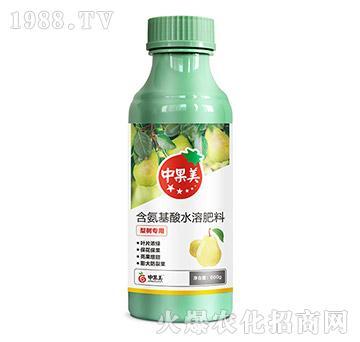 梨树专用含氨基酸水溶肥-中果美-农利达