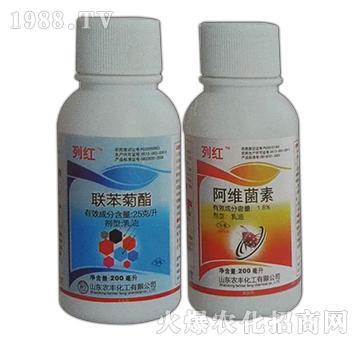 1.8%阿维菌素+2.5%联苯菊酯-列红-龙歌