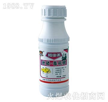 25%唑磷・毒死蜱-稻虫杀-红太阳