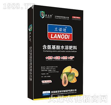 芒果、木瓜需配-含氨基酸水溶肥料-康美特(盒)