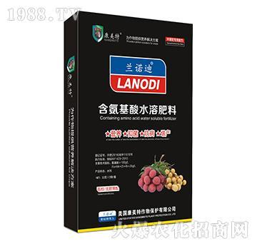 荔枝、龙眼需配-含氨基酸水溶肥料-康美特(盒)