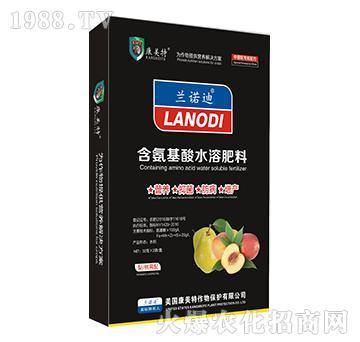 梨、桃需配-含氨基酸水溶肥料-康美特(盒)