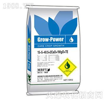 大量元素水溶肥15-5-40.5+2CaO+1MgO+TE-美巴夫