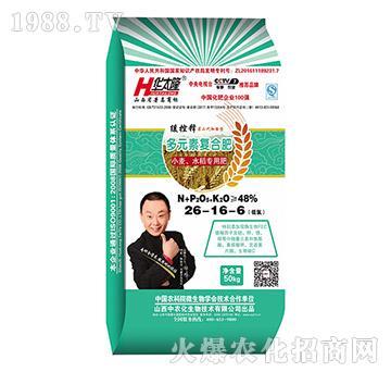 小麦水稻专用多元素复合肥26-16-6-华太隆