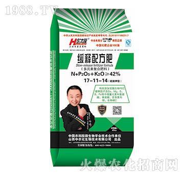 缓释配方肥17-11-14-华太隆